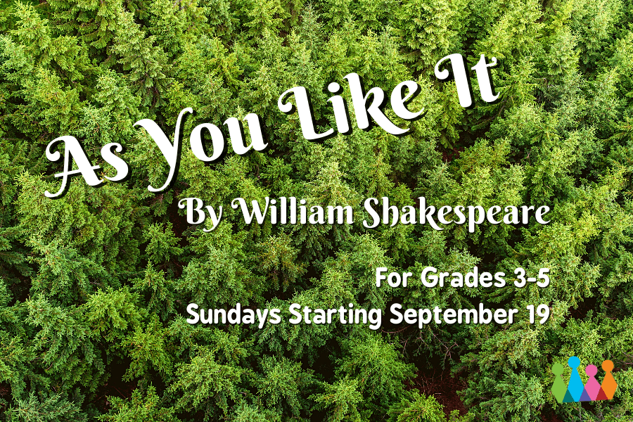 As You Like It Logo for Grades 3-5