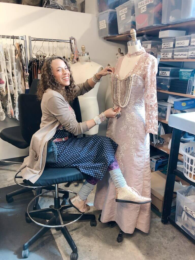 Designer Charlotte Gaspard