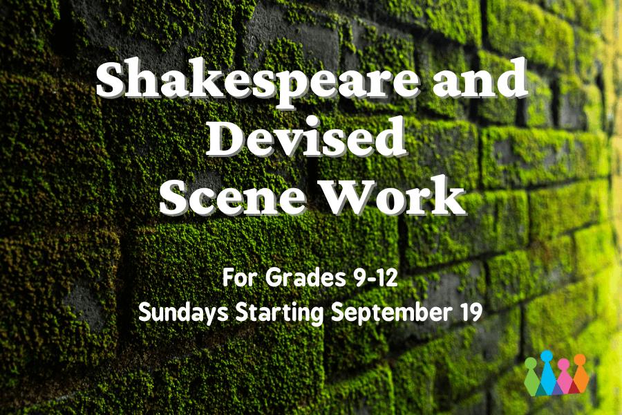 Shakespeare Scene Class for High Schoolers