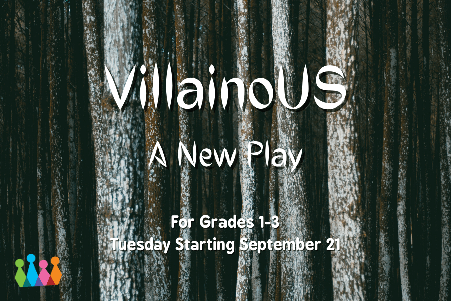 Logo for Villianous, a New Play